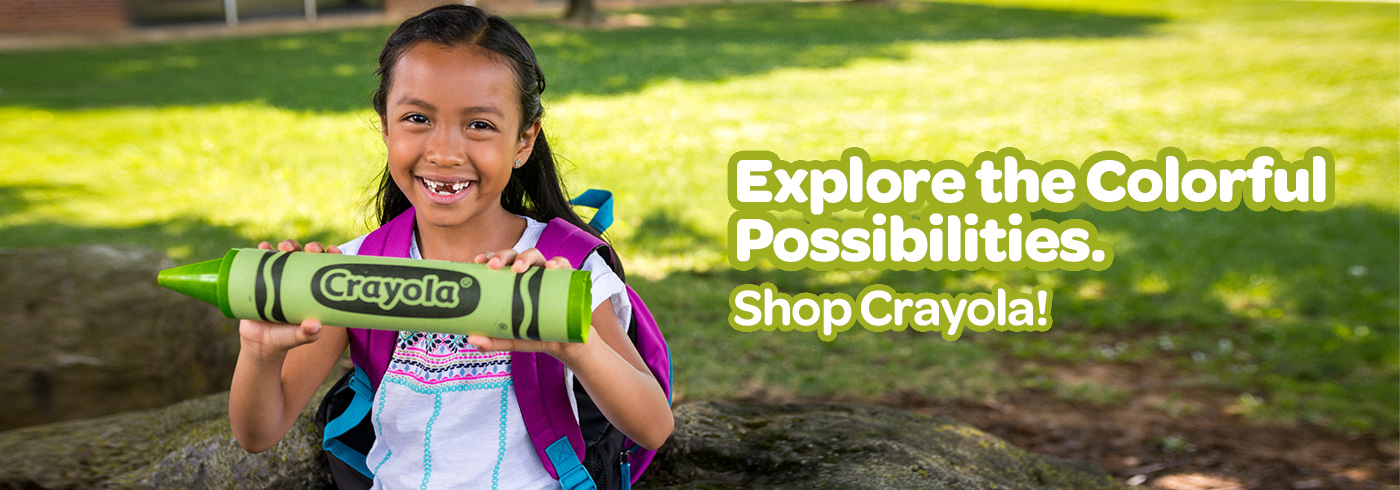 Explore the Colorful Possibilities. Shop Crayola